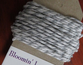 5m grey-white twine/gift wrapping string