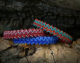 Macrame friendship bracelets