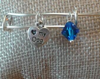 Charm Bracelet - dog paw