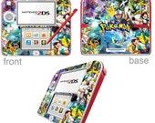 Pokmon Vinyl Skin Sticker for Nintendo DS liteDSiDSi xl3DS3DS xlNew 3DS cstickNew 3DS xl cstick2DS