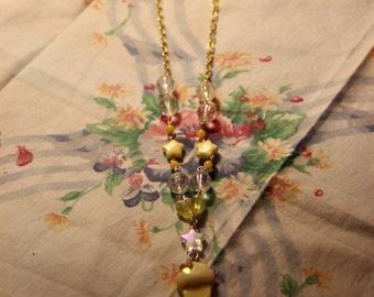 Sweet lolita yellow cupcake necklace