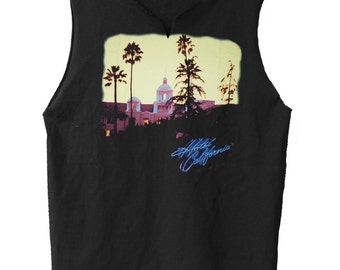 Hotel California - Eagles  muscle shirt