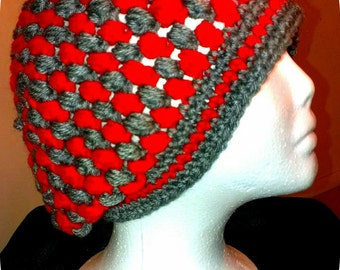 Made To Order Women's Crochet Beanie, Women's Tam, Women's Winter Hat