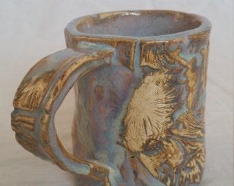 Small textured mug