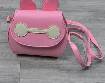 Girl Baymax Sling Purse
