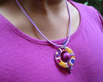 Colorful Sunset Necklace