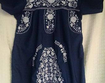 Mexican hand embroidered dress