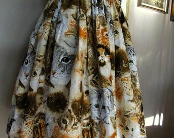Hundreds of Cats Handmade Skirt
