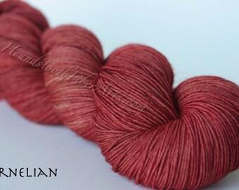Painted Ladies Sock Yarn, Carnelian