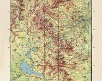 Rocky Mountain National Park Printable Map Downloadable U S National Park Map Colorado Estes Park