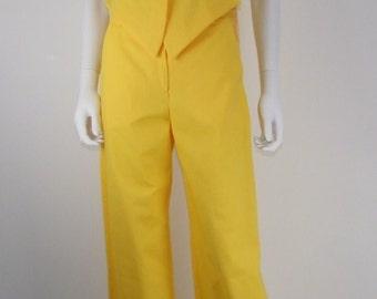 Pantaloni e giacca in cotone