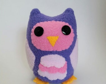 Purple Owl Plushie