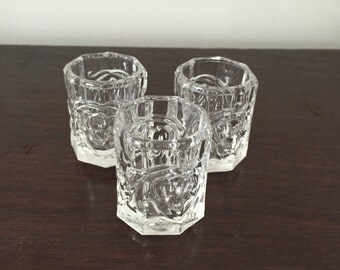 Coronet Shot Glasses (three)