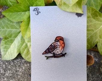Bird on a Branch Pin