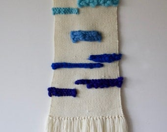 "Woven tapestry ""Sky""/wall hanging/home/wall decor/"