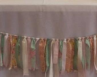 6 ft Ribbon/Fabric Garland