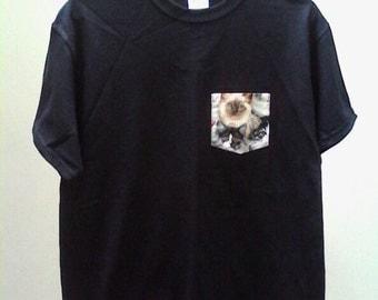 Cat Pocket Shirt