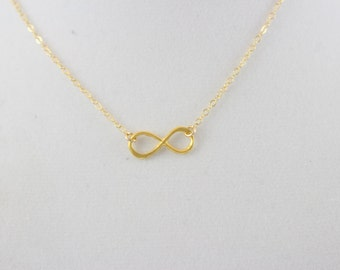 20% Off 14K Gold Fill Infinity Charm Necklace BP4050