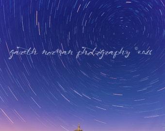 Star Trails Over Normanton Church