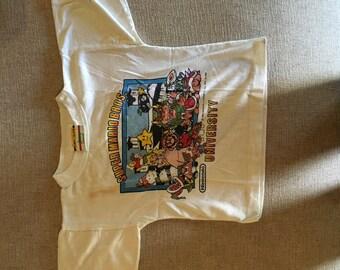 Super Mario Brothers University Children's Tee Nintendo