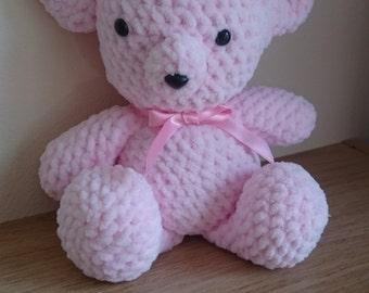 Pretty Pink Teddy