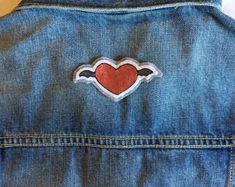Bat Wing Heart