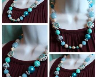 A Sensible Blue Necklace