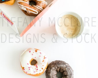 Donuts & Coffee | Styled Stock Photography