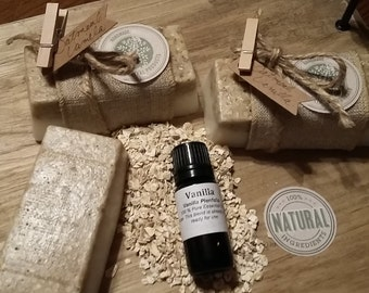 Pure Natural Oatmeal Vanilla Soap