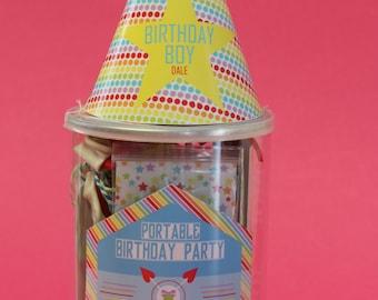Portable Birthday Party Kit