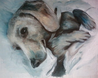 Custom Pet Portrait 8x10!