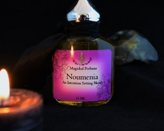 Noumenia Perfume~ A New Moon Intention Setting Potion~New Moon Oil~Moon Oil