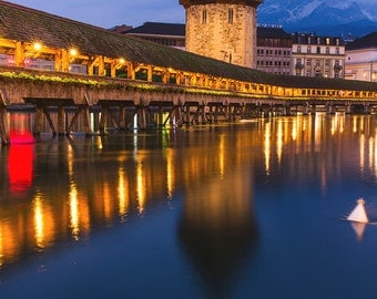 Switzerland Photography, Travel Photography, Lucern Photography, Lucern Bridge