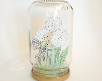 """Fairy in a jar """"Dandelion"""""""