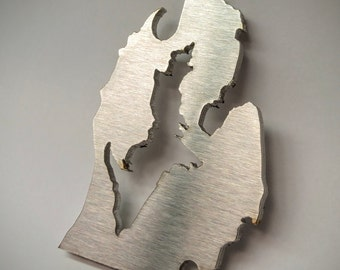 Michigan Shaped Bottle Opener / Keychain