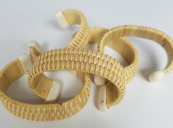 Handmade Nantucket Basket : Hand made nantucket basket bracelet