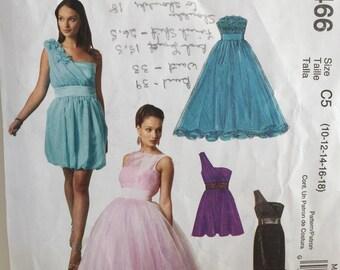 McCalls M6466 Dress CUT Pattern Copyright© 2011