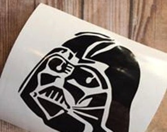 Darth Vader Yeti cup Decal