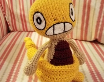 Crochet Scraggy Plush