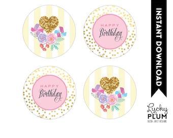 Sunshine Cupcake Topper / Pinwheel Cupcake Topper / You Are My Sunshine Cupcake Topper / Flower Cupcake Topper