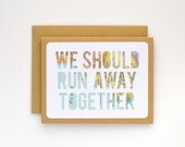 Elopement Card, Will You Marry Me, I Love You Card for Boyfriend, Romantic Card for Girlfriend, Engagement Idea
