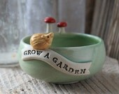 GROW A GARDEN Hedgehog Bowl - Ring Dish - 3 to 5 Weeks for Delivery