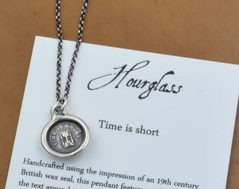 Time is Short Whimsy Seal Necklace -212