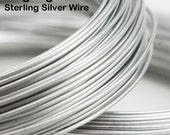 16 gauge Sterling Silver Wire (DS, by the foot)