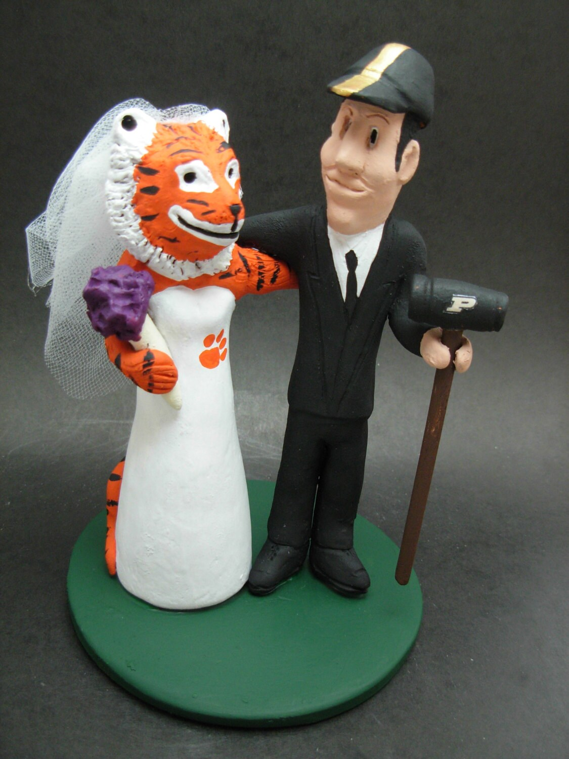 College Football Cake Toppers