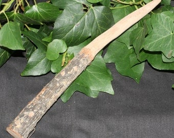 Rare Natural Dorset Blackthorn root Wand for protection and banishing