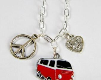 VW Van Necklace