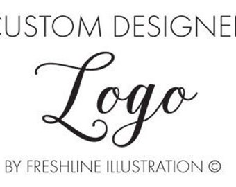 Logo Design Custom, Illustrated Logo, Shop Logo Design, Branding Logo, Graphic Design Services, Graphic Designer