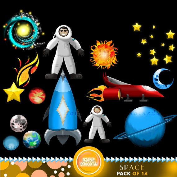 Outer space clip art images commercial use by rainedakota for Outer space industrial design