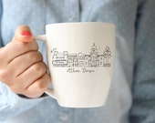 ATHENS, Georgia Classic City Skyline Mug